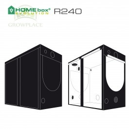 HomeBox Evolution R 240 Namiot Growbox 240 cm x 120 cm x 200 cm