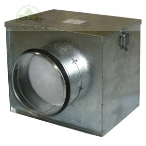 Air Filter Box - 150 mm plus Dust Filter - System Przeciwkurzowy