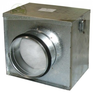 Air Filter Box - 125 mm plus Dust Filter - System Przeciwkurzowy