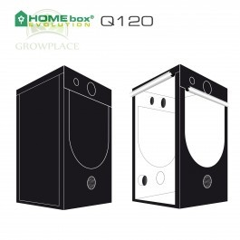 HomeBox Evolution Q 120 Namiot Growbox 120 cm x 120 cm x 200 cm